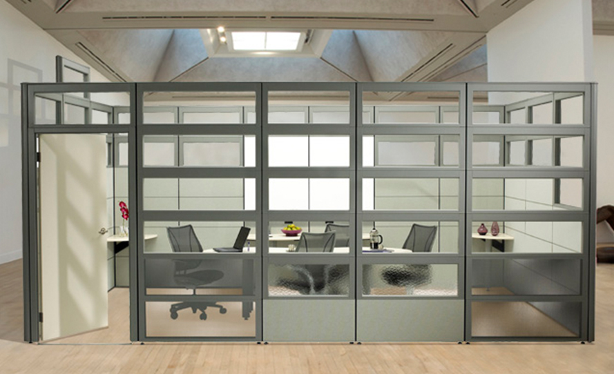 Floor to Ceiling cubicle offices... or Nearly :)